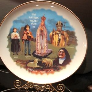 Decorative plate from Portugal